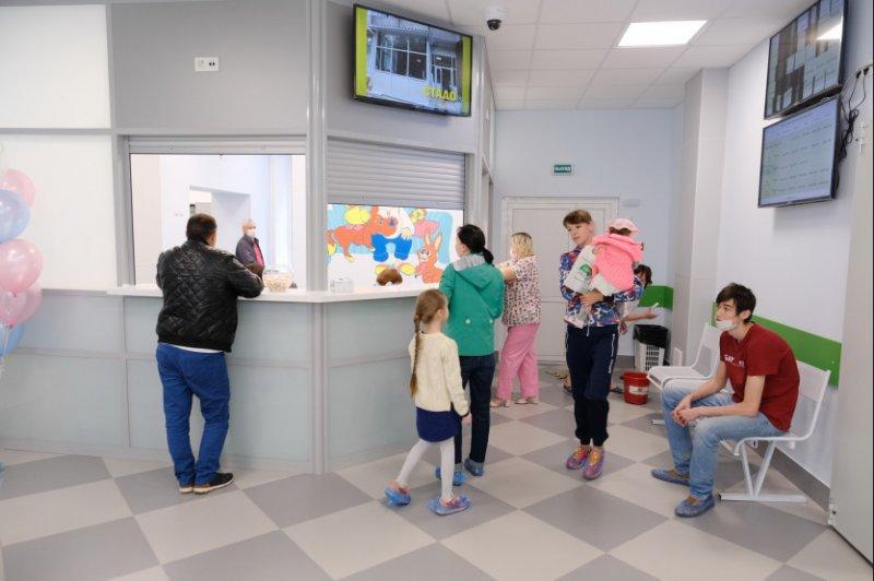 В День защиты детей в поликлинике №1 начали принимать маленьких пациентов