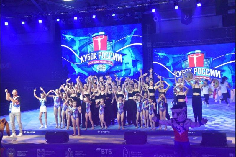 Впервые в Новосибирске проводится Кубок России по спортивной гимнастике – основной этап отбора на Олимпийские игры в Токио