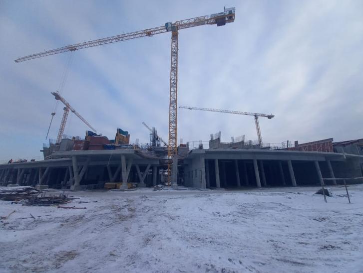 В Новосибирске построили четыре этажа нового ЛДС