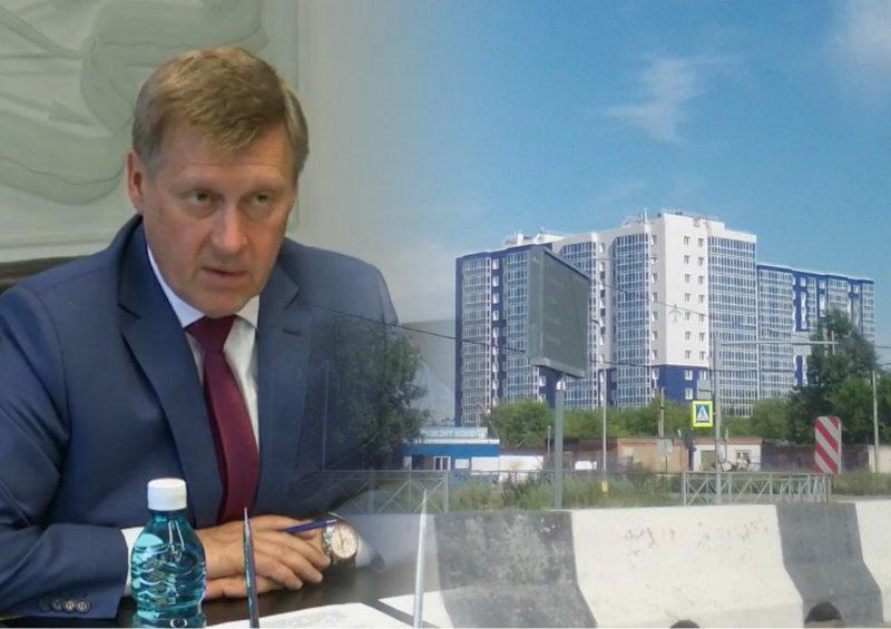 «Мы не нарушали»: мэр Локоть готов судиться с Росгвардией за ЖК «Аэропорт»