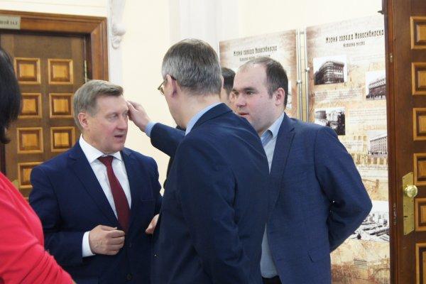 Мэр Локоть о том, как Медведев помешал снег убирать