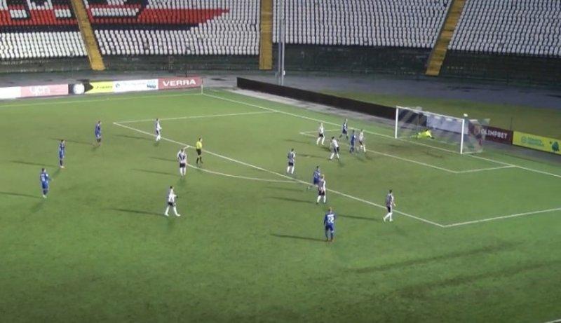 Футбольный «Новосибирск» потерпел третье поражение (ВИДЕО)