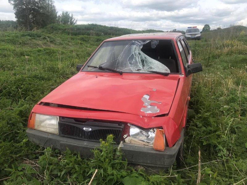 Полиция идет по следу водителя красного «Спутника» из Маслянино