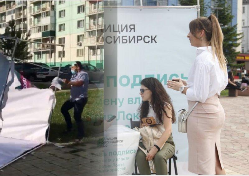 Сборщики подписей за кандидатов от коалиции подозревают в нападении помощников Алексея Джулая